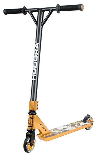 hudora stunt scooter xr 25 gold 14027 freestyle. Black Bedroom Furniture Sets. Home Design Ideas