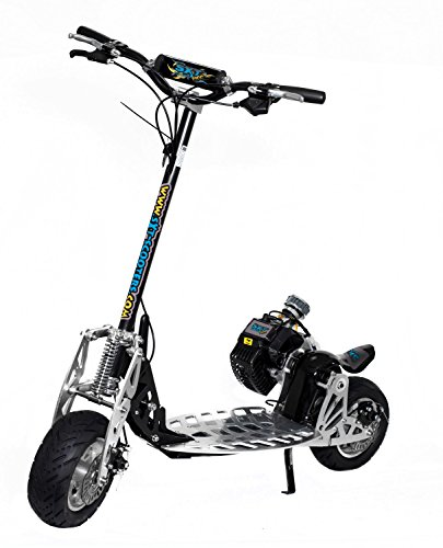 sxt 71cc benzin scooter mit volldampf auf die stra en. Black Bedroom Furniture Sets. Home Design Ideas
