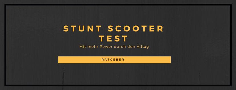 Stunt Scooter Test Ratgeber