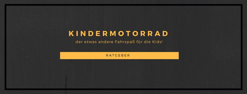 Kindermotorrad Ratgeber