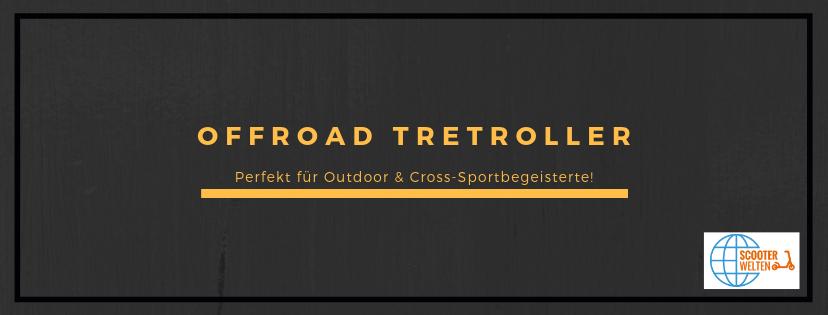 Offroad Tretroller